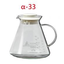 BHG880-W 880cc咖啡壺-白