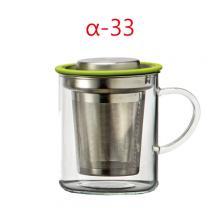 BHS-430A-G 430cc花茶杯 平蓋