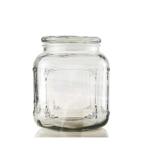 TZ1K0003 2070ml方形圓口儲物罐